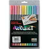 Le Plume Ii Double-Ended Markers 12/Pkg-Pastels