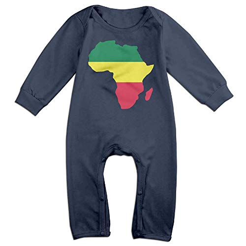- Mri-le1 Baby Boy Long Sleeve Jumpsuit Africa with Reggae Flag Toddler Jumpsuit