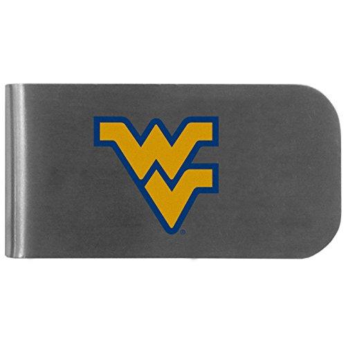 Siskiyou NCAA West Virginia Mountaineers Logo Bottle Opener Money Clip (Clip Virginia Paper West Holder)