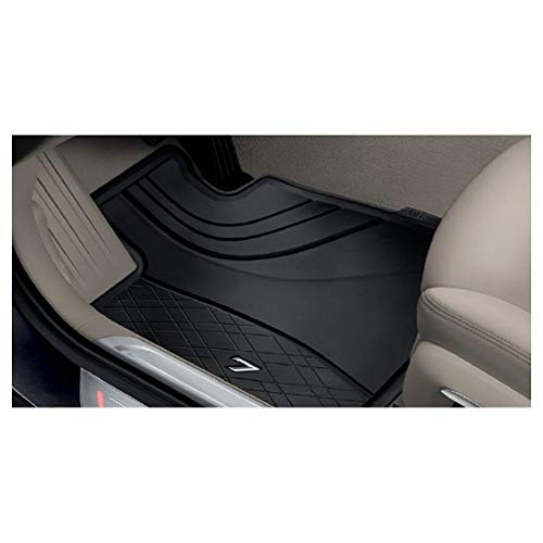 BMW 51472444038 All-Weather Floor Mats for G12 7 Series (Set of 2 Rear Mats) (Floor Mats Rear Black Bmw)