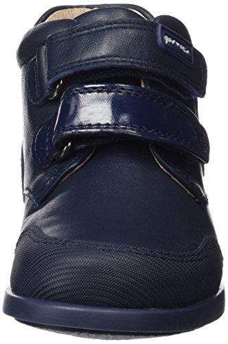 Garvalín 161401-B - Zapatos de primeros pasos bebé-niñas Azul Marino (Sauvage)