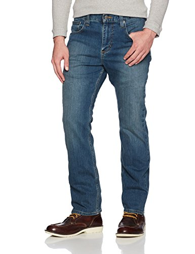 Carhartt Men's Full Swing Relaxed Straight Jean, Coldwater, 33W X 32L by Carhartt