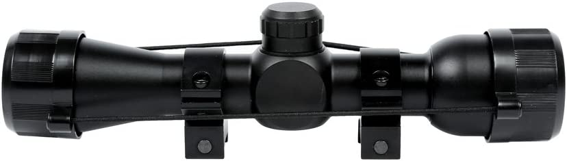 7. CenterPoint 3x32 Rifle Scope with 30-Yard Parallax