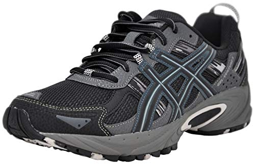 ASICS Men's Gel-Venture 5-M, Black/Onyx/Charcoal, 12 M US (Best Tennis Shoes For Knee Problems)