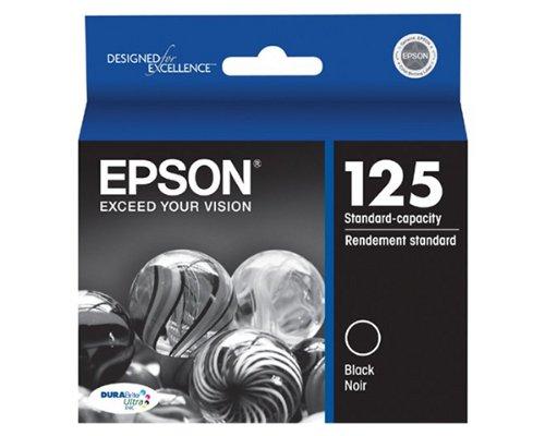 Epson Stylus NX230 Black Ink Cartridge (OEM) 265 Pages -  T125120