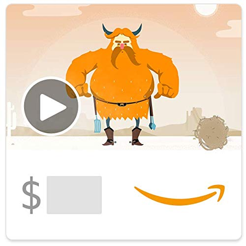 Amazon eGift Card - Father's Day BBQ (Animated)