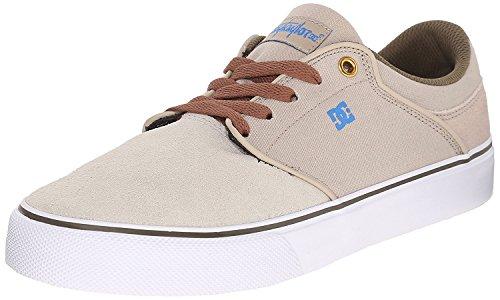 DC Mens Mikey Taylor Vulc Mikey Taylor Signature Skate Shoe, Camel, 42 D(M) EU/8 D(M) UK