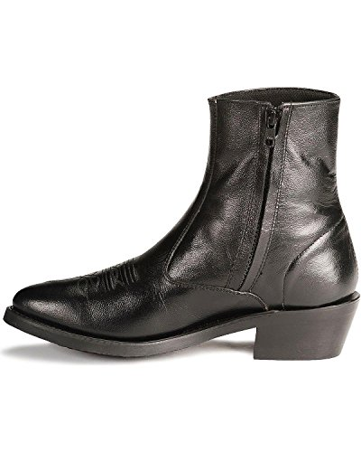 9dbc4ac02dd Old West Men's Zipper Western Ankle Boot - Import It All