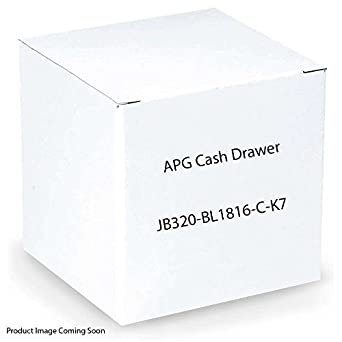 APG Cash 4000 cash drawer 18x16 MultiPro Interface JB320-BL1816-C-K7