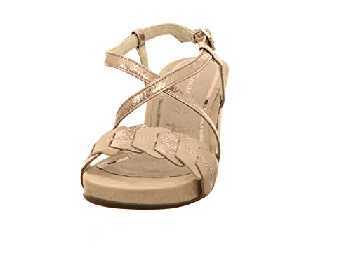 Tamaris Ladies Sandals 1-28391-20-220 Cloud Pewter Gray Metallic CLOUD/PEWTER QbzxtdSv