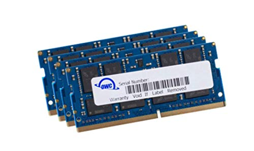 (OWC 128GB (4 x 32GB) 2666MHz DDR4 PC4-21300 SO-DIMM 260 Pin Memory Upgrade, (OWC2666DR4S128S), for 2019 27 inch iMac (iMac19,1) and PC laptops)
