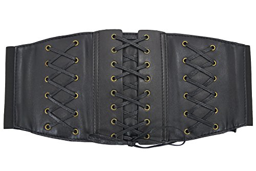 Front Lace Up Back Cinch - 1