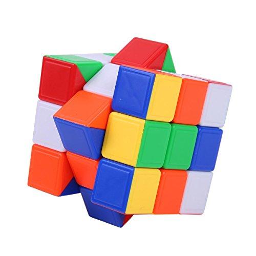 Ohuhu 3X3X3 Stickerless Speed Cube Puzzle Cube Magic Cube Puzzle, Anti-POP & Durable