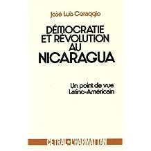 Démocratie et révolution au nicaragua