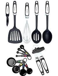Get All-Purpose Farberware 14-Piece Professional Assorted Tool and Gadget Set dispense