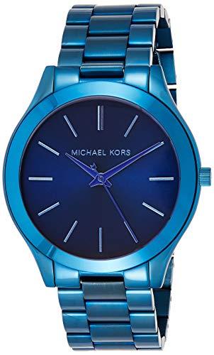 Michael Kors IP Three-Hand Watch