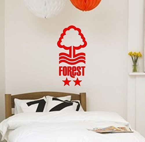Vinyl wall art or car sticker nottingham forest football club