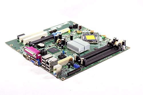 Genuine Dell Motherboard Logic Board For Optiplex 745 Small Mini Tower SMT Systems Intel Q965 Express DIMM Memory Chipset Compatible Part Numbers: TY565, HR330, KW626, RF703 by Dell (Image #2)