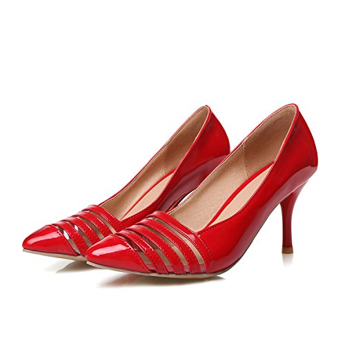 Spring Femmes 45 do Toe Chaussures Grande Shoes And taille XDGG 2 chaussures days Stiletto Petites return Fashion Heel red Pointed Bride Single custom not Summer 4 OFqzd