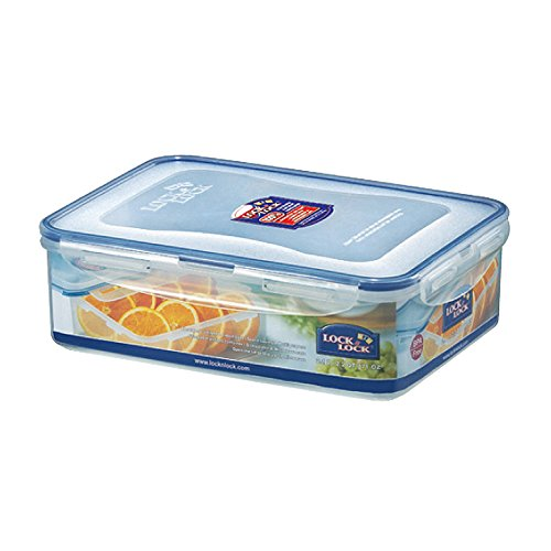 Lock&Lock 71-Fluid Ounce Rectangular Food Container, Short, 8.7-Cup