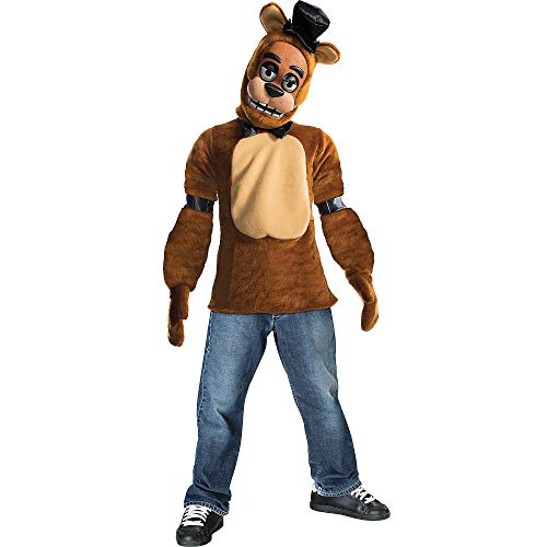 Rubie's 630622-L Boys Five Nights at Freddy's Fazbear Costume, Large, Multicolor (Pack of 4) ()