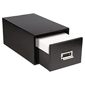 Amazon.com : Buddy Products 1 Drawer 5 x 8 Inch Card File