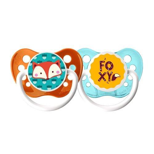 Amazon.com: Ulubulu Chupete, 6 – 18 meses 2 Pack Boy – Foxy ...