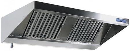 Campana extractora de pared con motor, iluminación y regulador de velocidad (1000 x 900 mm) - GE: Amazon.es: Grandes electrodomésticos
