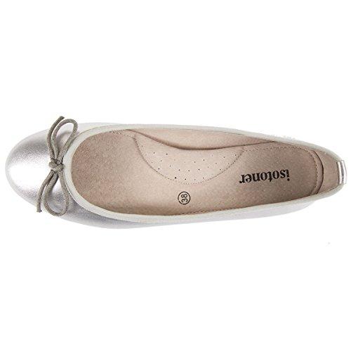 Damen-Ballerinas 100% Leder Isotoner 40