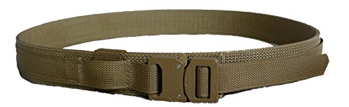 Pantel Tactical EDC Every Day Carry Belt with Cobra Buckle 1-1/2