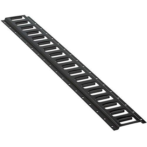 8x 5' E Track (Black Horizontal) for Enclosed Trailer Cargo Truck Van Hauler by GPD (Image #2)