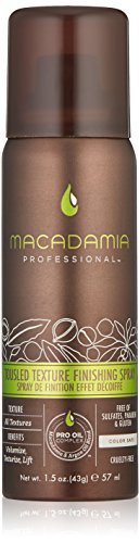 Macadamia Professional Tousled Texture Finishing Spray - 1.5 oz. - All Hair Textures - Boosts Fullness & Texture - Sulfate, Gluten & Paraben Free, Safe for Color-Treated Hair