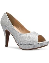 Women¡¯s Sexy Open Toe High Heel Pumps - Basic, Comfortable