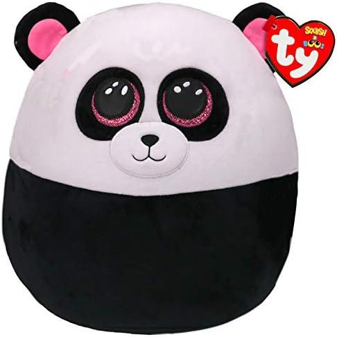 TY- Squish a Boos-cojín Paris Le Panda 40 cm, TY39192, Blanco y Negro: Amazon.es: Juguetes y juegos