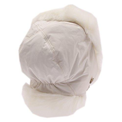 4441u Hat Para Orecchie Cappello Girl Bimba Bianco Earmuffs White Woolrich BaBrq