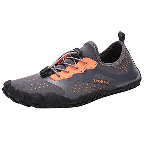 Creek Amplifiers - Oliviavan Unisex Quick-Dry Water Shoes Pool Beach Swim Drawstring Shoes Creek Diving Shoes