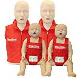 Adult and Infant CPR Manikin Kit with
