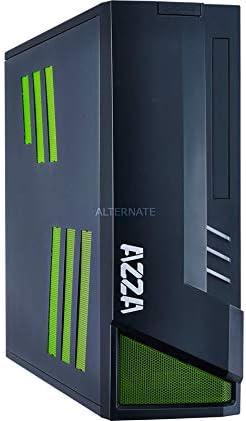 Azza Z 103 Carcasa de Ordenador ITX-Tower Negro, Verde - Caja de ...