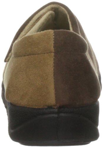 Padders Mujeres Hug Microsuede Slipper (424n / 78) Camel Suede