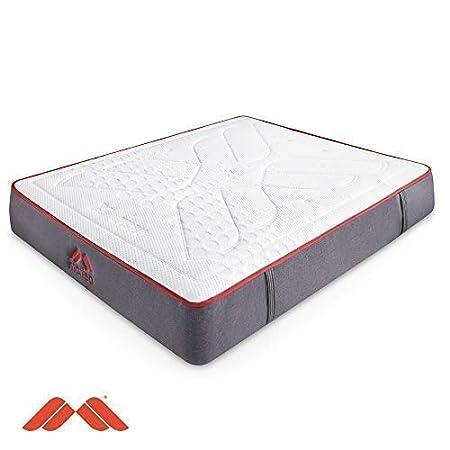 Colchones Morfeo 135x190 | Hybrid System | Micromuelle-Viscoelastica. El Mejor colchón para Dormir, dureza Media Alta.