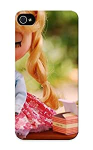 Flyinghouse High Quality Shock Absorbing Case For Iphone 5/5s-doll At A Picnic