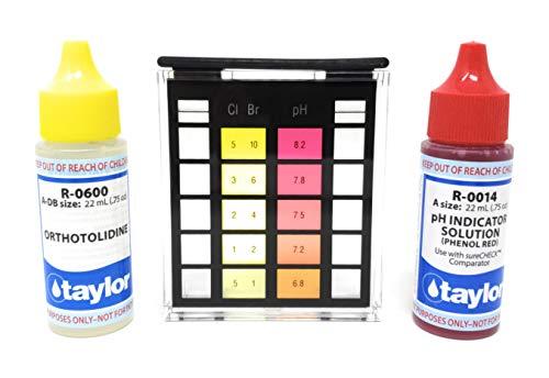 Taylor K-1000 Basic Residential Pool & Spa Test - Taylor Spa Test Kit
