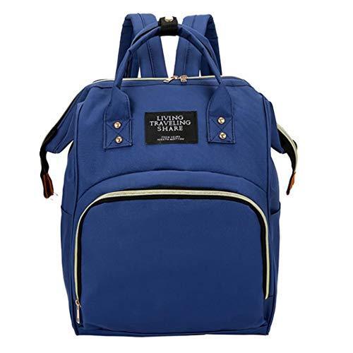 Mummy Bag Nappy Bottle Bag Large Capacity Baby Bag Travel Backpack Nursing Bag ()