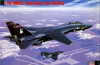 ハセガワ 1/72 F-14A トムキャット'ブラックバニー/ロービジ' SP5