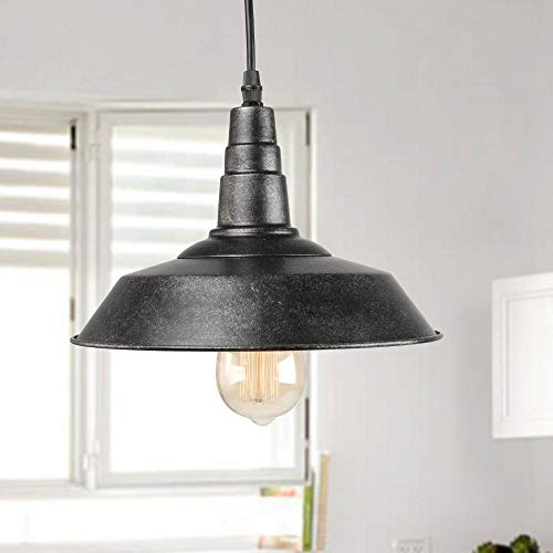 - LNC Pendant Lighting for Kitchen Island with Hand-Painted Rustic Finish and and 60