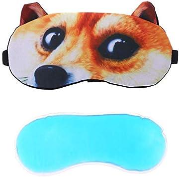 Eye Mask Soft Padded Sleep Travel Shade Cover Relax Sleeping Blindfolds Ice Bag