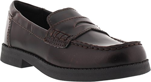 (Kenneth Cole Reaction Loaf-Er Penny Loafer (Little Kid/Big Kid),Burgundy,13 M US Little Kid)