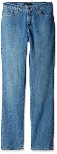 Lee Women's Classic Fit Monroe Straight Leg Jean, Pearl,