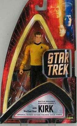 Starfleet Battles - Star Trek Original Series Wave Three - Battle Ravaged Captain Kirk