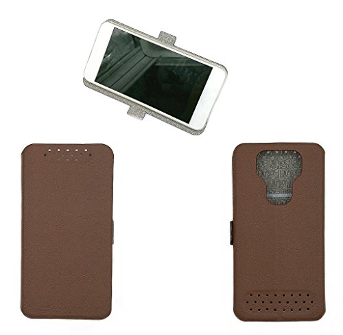 Case for Highscreen Easy S Pro Case Cover Tan